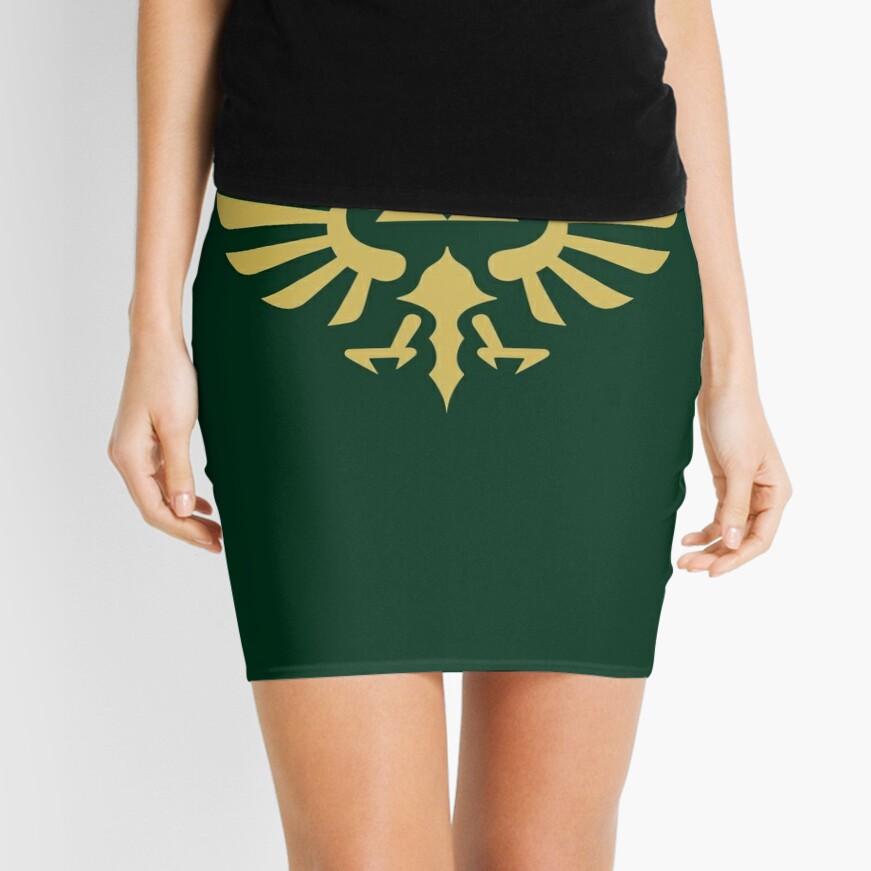 The Legend of Zelda Royal Crest (gold) Mini Skirt