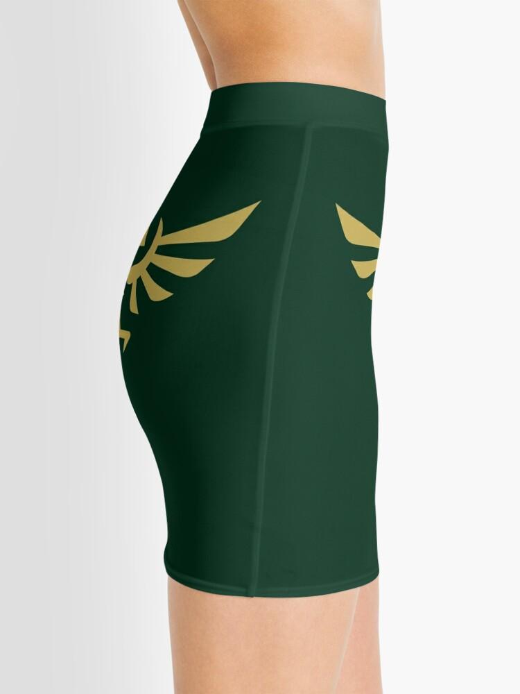 Alternate view of The Legend of Zelda Royal Crest (gold) Mini Skirt
