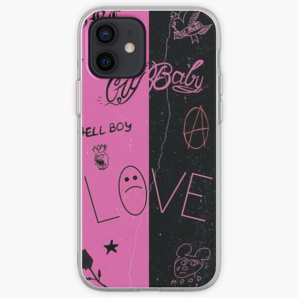 Lil Peep Tattoo Pack Compilation Design #1 iPhone Soft Case
