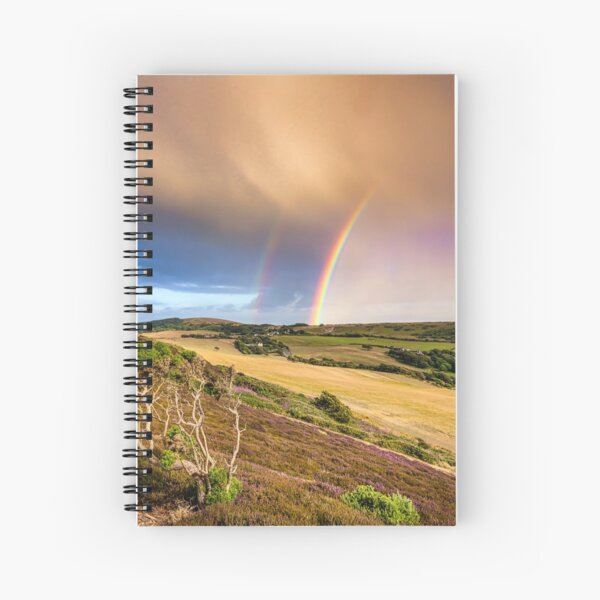 Headon Hill Rainbow Spiral Notebook