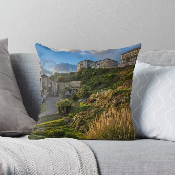 Ventnor Isle Of Wight Throw Pillow