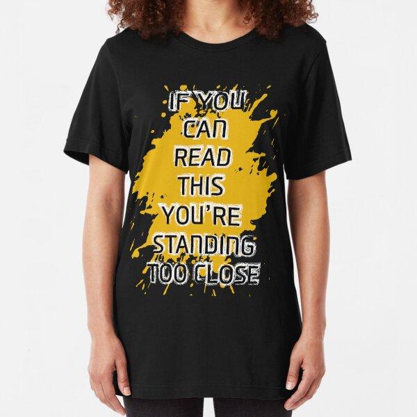 IDcommerce Im Fine Thank You Womens T-Shirt