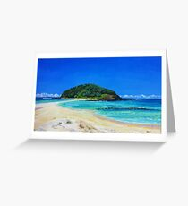 Crampton Island by Stephanie Burns Greeting Card