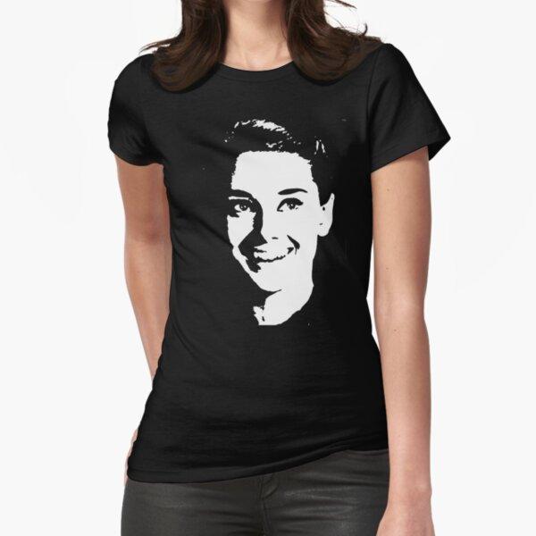 audrey hepburn Fitted T-Shirt