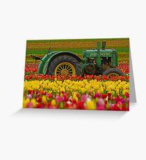 Nothing Runs Like A Deere Greeting Card