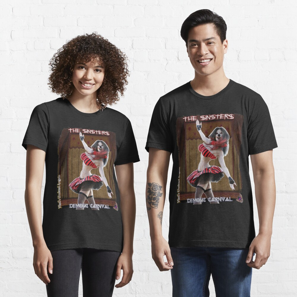 Demonic Carnival: The Sinsters Shattered Dreams Essential T-Shirt