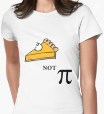 Pie not Pi Women's Fitted T-Shirt