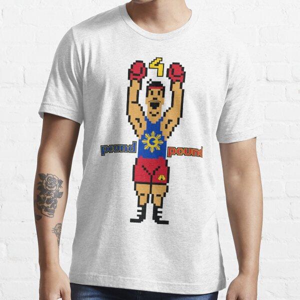 "DAV Brandz Manny ""Pacman"" Pacquiao 8-Bit Tee Essential T-Shirt"