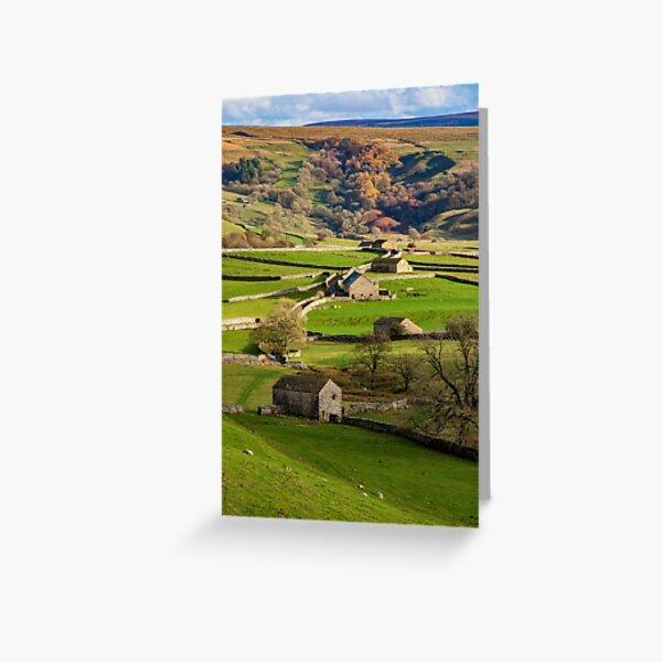 Malham barns Greeting Card