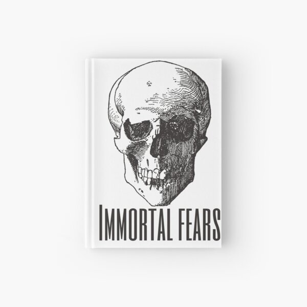 Immortal Fears Hardcover Journal