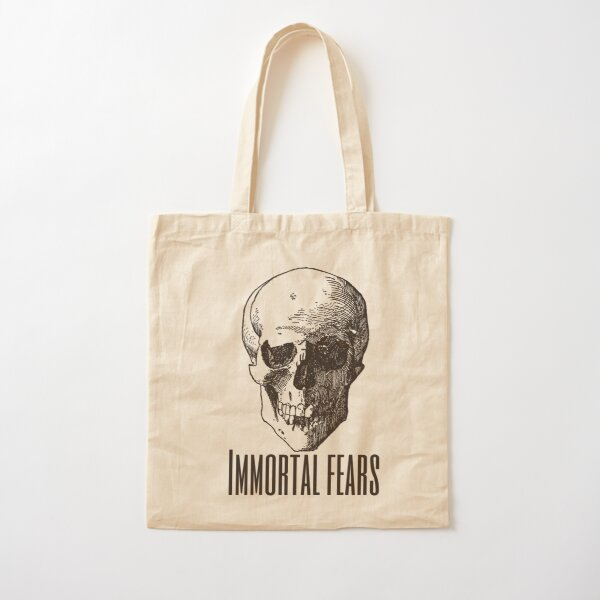 Immortal Fears Cotton Tote Bag