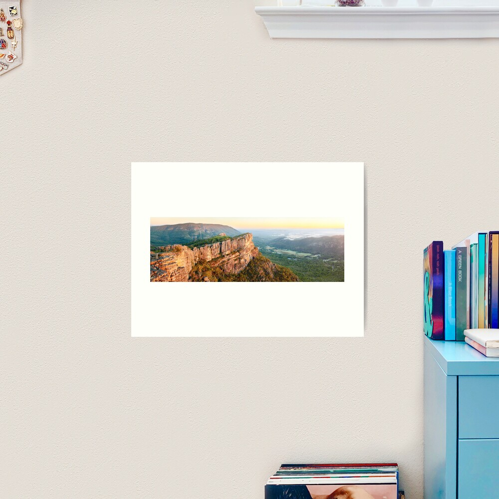 Relph Peak, Grampians National Park, Australia Art Print
