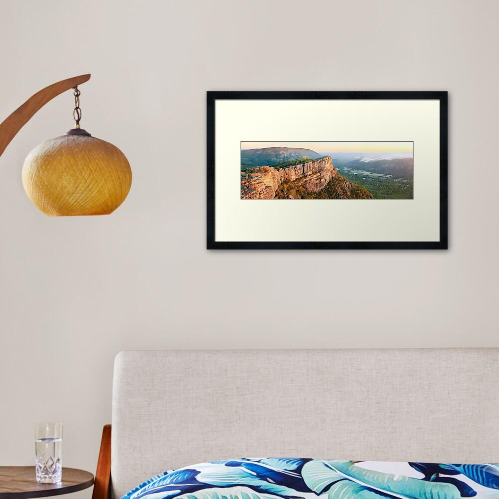 Relph Peak, Grampians National Park, Australia Framed Art Print