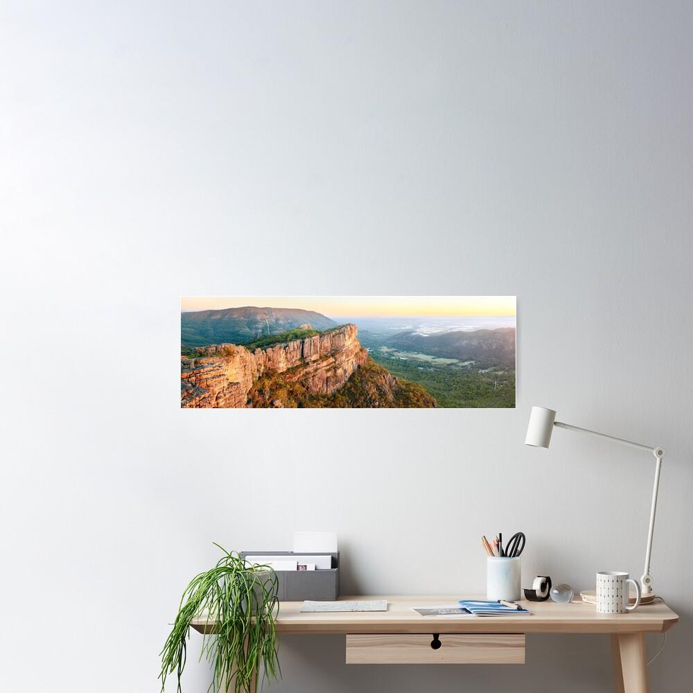 Relph Peak, Grampians National Park, Australia Poster