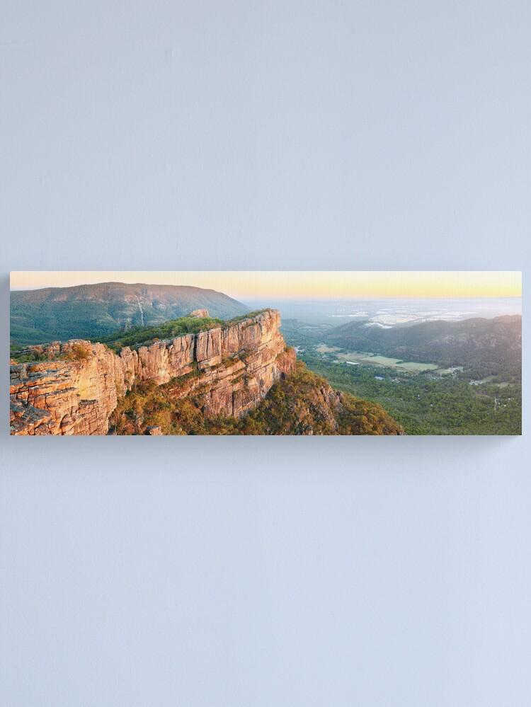 Alternate view of Relph Peak, Grampians National Park, Australia Canvas Print