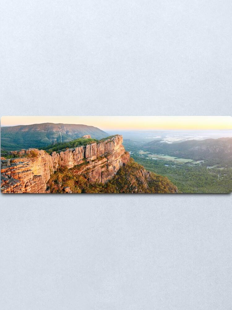 Alternate view of Relph Peak, Grampians National Park, Australia Metal Print