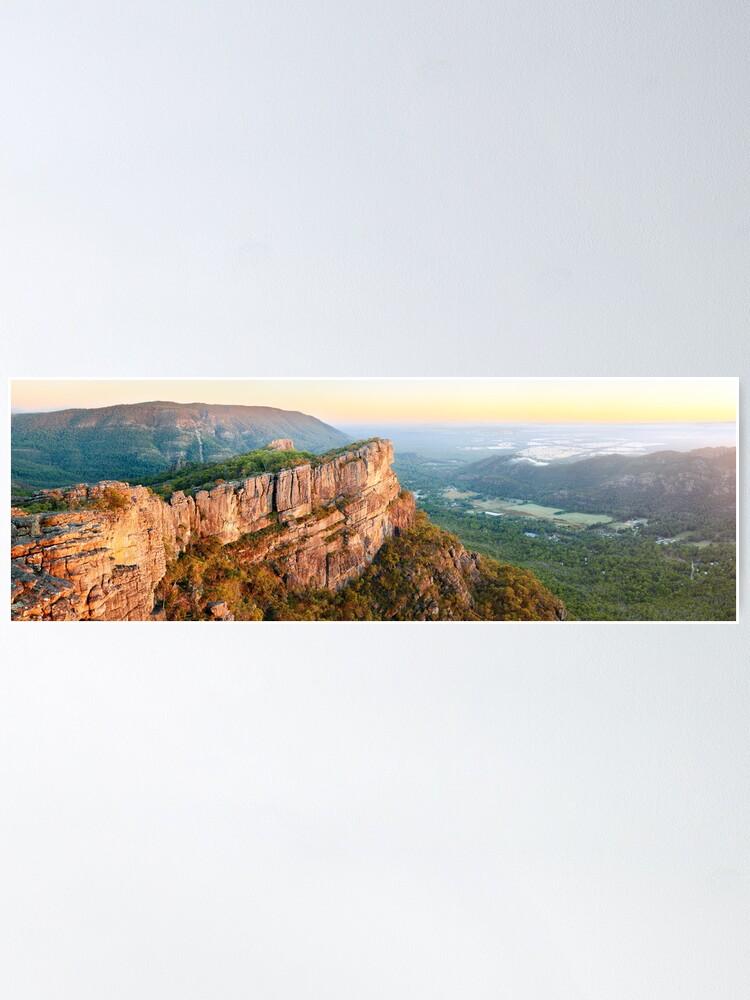 Alternate view of Relph Peak, Grampians National Park, Australia Poster