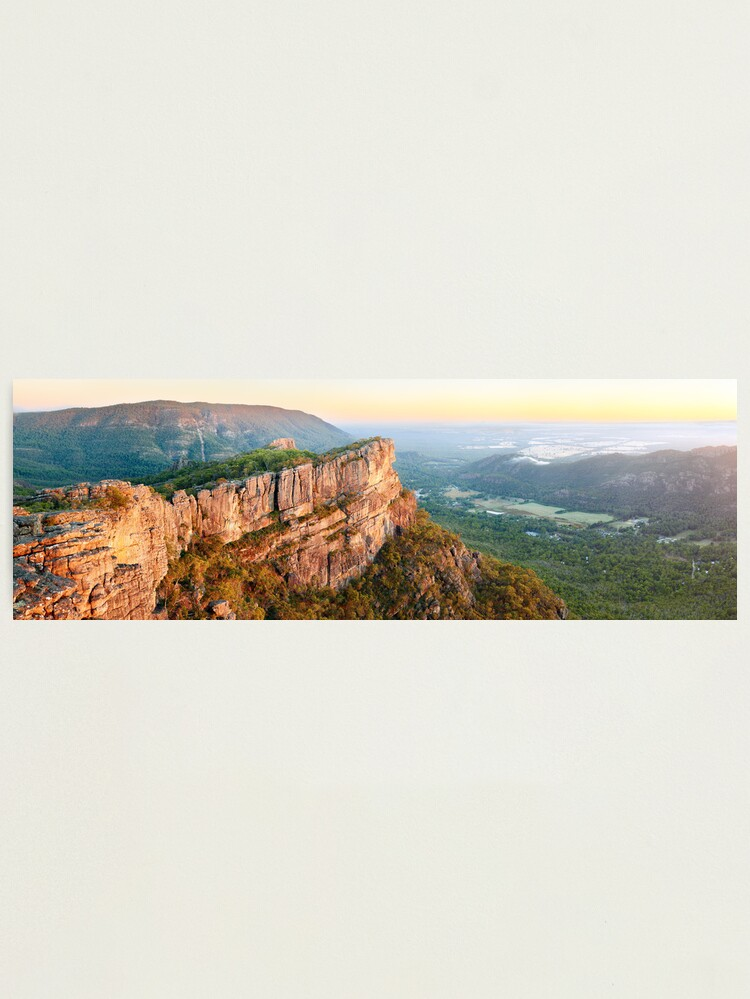 Alternate view of Relph Peak, Grampians National Park, Australia Photographic Print