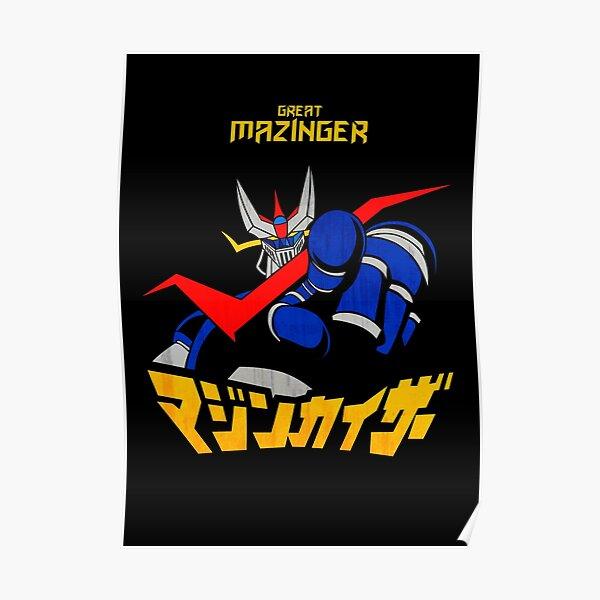 061 Great Mazinger Finger Poster