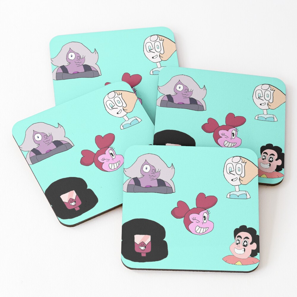 Steven Universe The Movie Coasters (Set of 4)