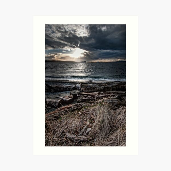 English Bay, Sunset Art Print