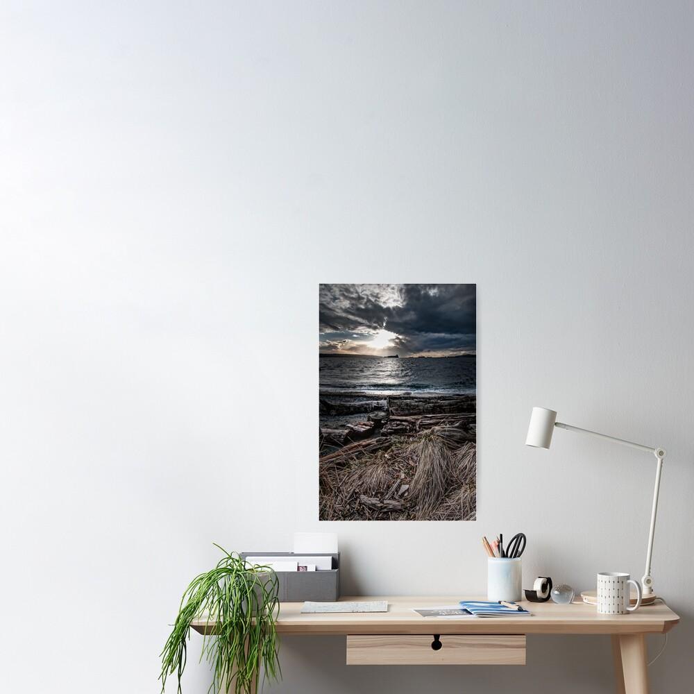 English Bay, Sunset Poster