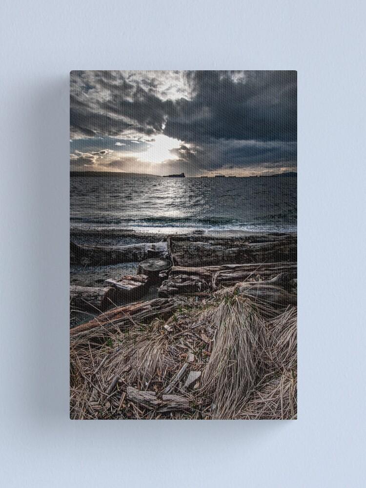 Alternate view of English Bay, Sunset Canvas Print