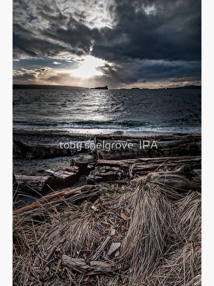 English Bay, Sunset by tobysnelgrove