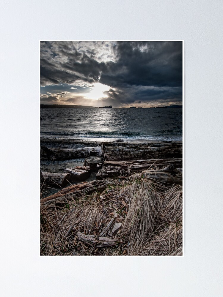 Alternate view of English Bay, Sunset Poster