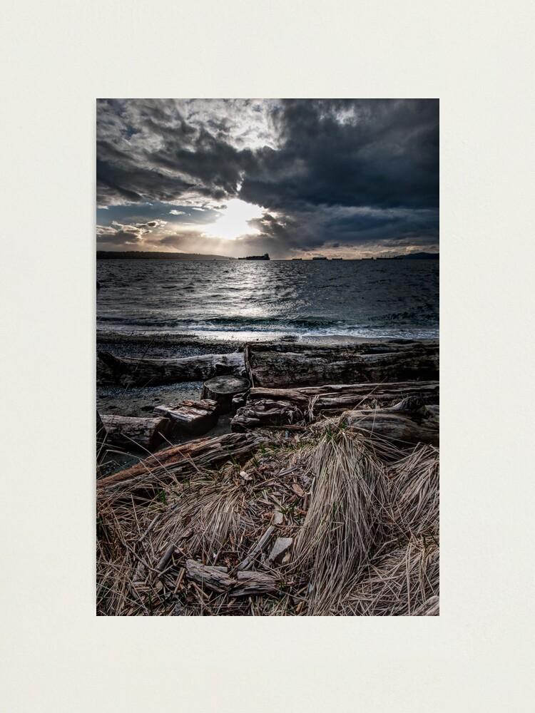 Alternate view of English Bay, Sunset Photographic Print