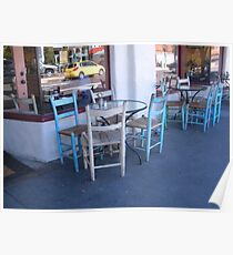 """""""Chairs and Tables"""" Part of a Series Poster"""