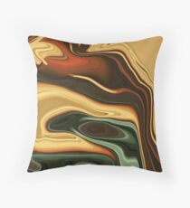 Snoozing Sand Snakes Throw Pillow