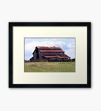 Old Weathered Barn Framed Print