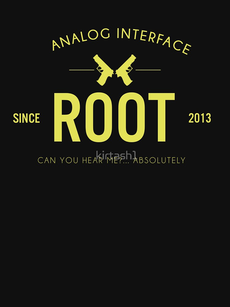 Person of Interest - Root - Black | Unisex T-Shirt