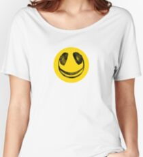 headphone smile Women's Relaxed Fit T-Shirt