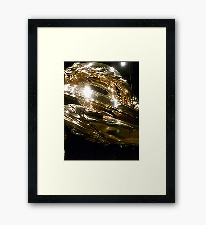 Mona Bling Framed Print