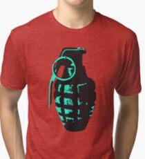 Grenade Tri-blend T-Shirt