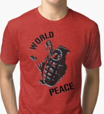 World Peace Tri-blend T-Shirt