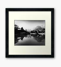 Shanghai Lake Framed Print