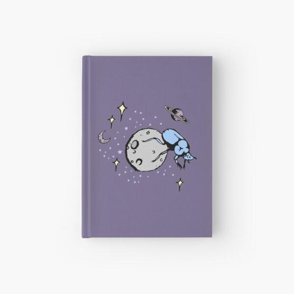 Galactic Dung Beetle Hardcover Journal
