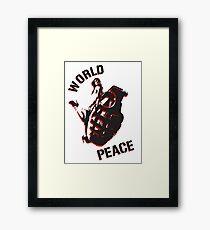 World Peace Framed Print
