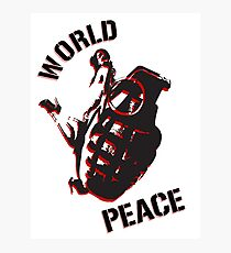 World Peace Photographic Print