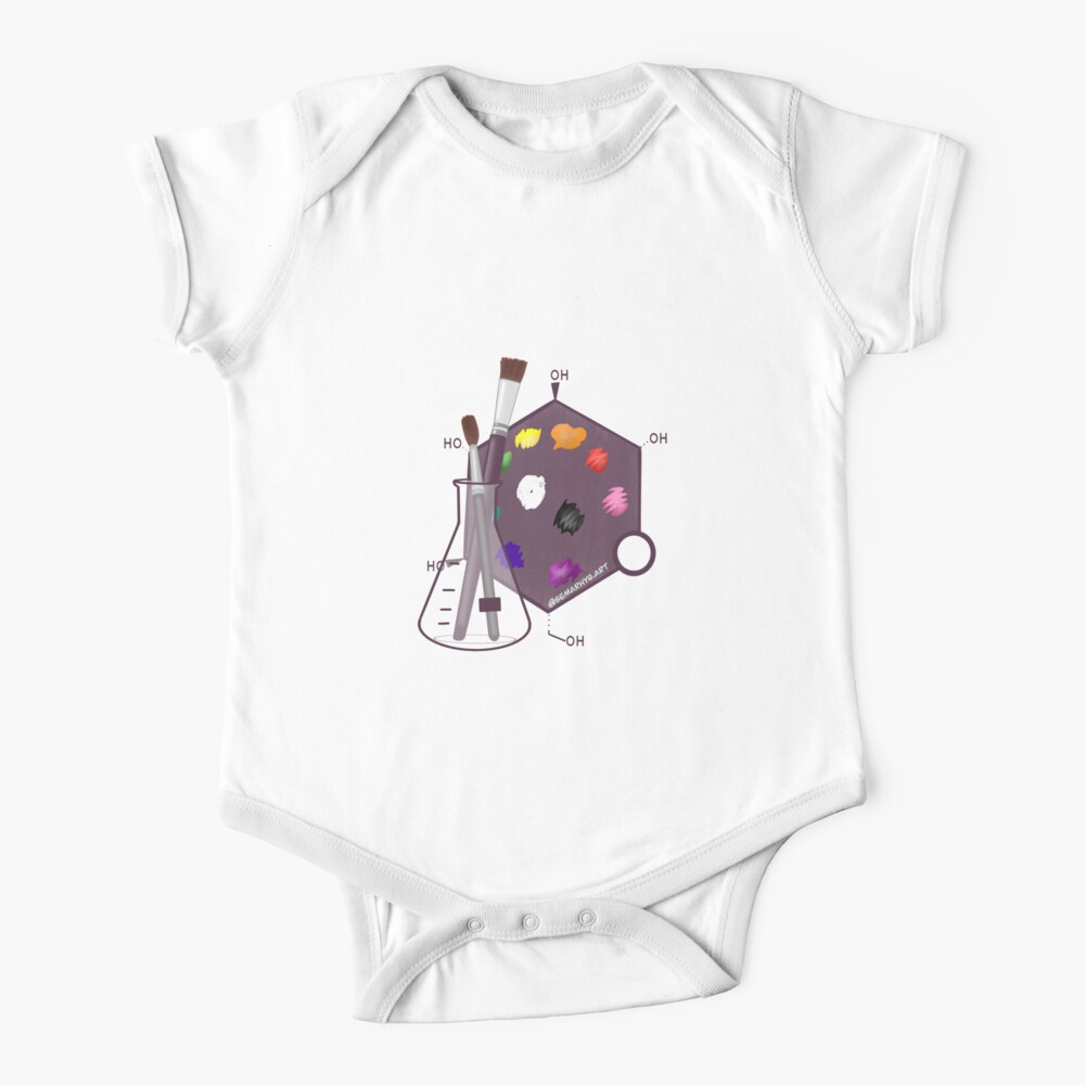 Science Art (SciArt) Baby One-Piece