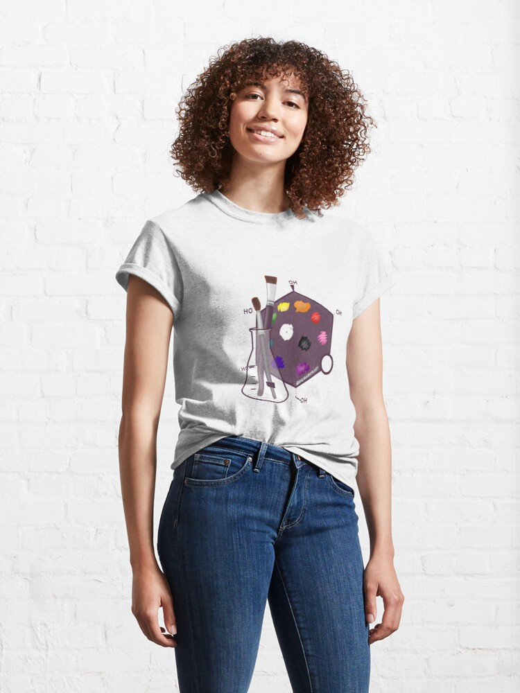 Alternate view of Science Art (SciArt) Classic T-Shirt