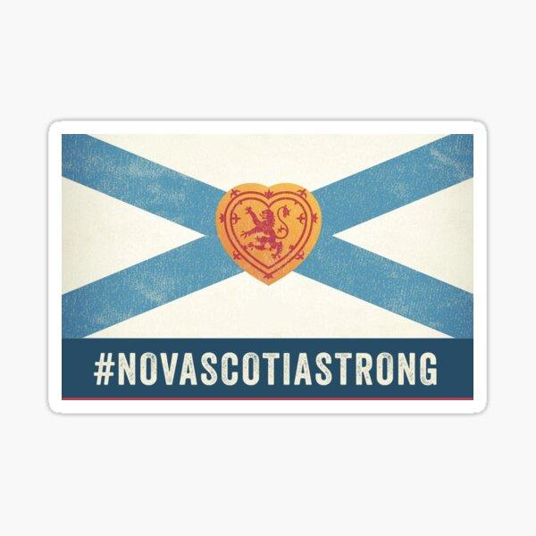 Nova Scotia Strong Flag Sticker