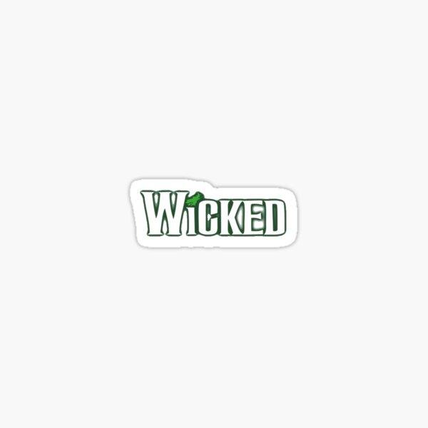 Wicked Musical Sticker/Print Sticker