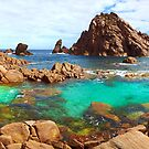Sugarloaf Rock Day Panoramic by Adam Gormley