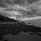 Point Lonsdale BW by Danielle  Miner