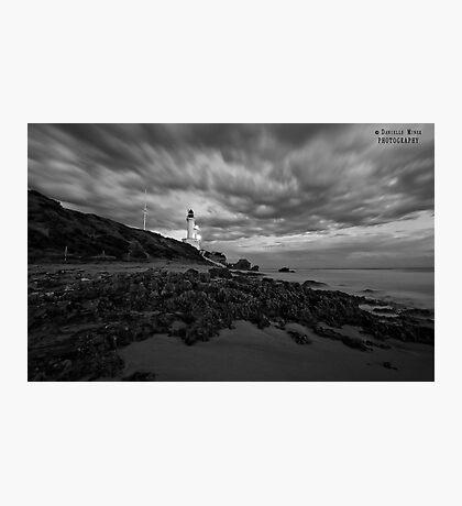 Point Lonsdale BW Photographic Print