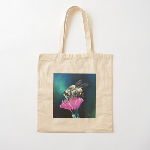 Bee Brave Cotton Tote Bag